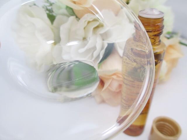 アンプルールエイジング化粧水のテクスチャー