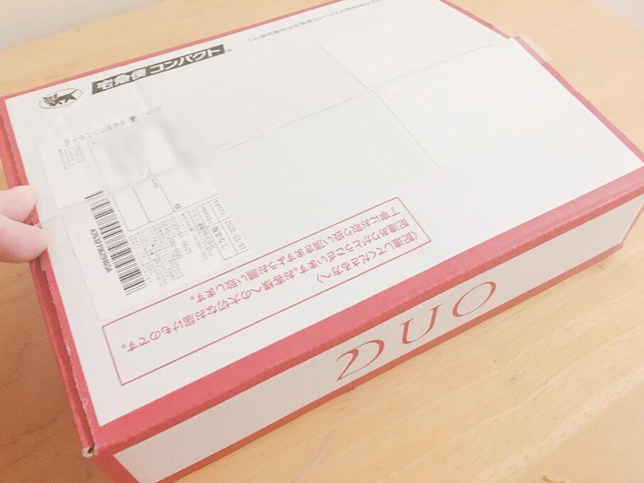 DUOクレンジングバームの箱