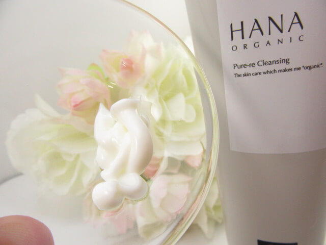 HANAオーガニックのクレンジングクリーム
