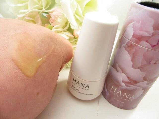 HANAオーガニック美容液の使用感