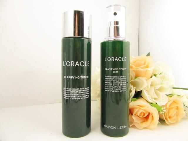 オラクルの化粧水(保湿タイプとミストタイプ)