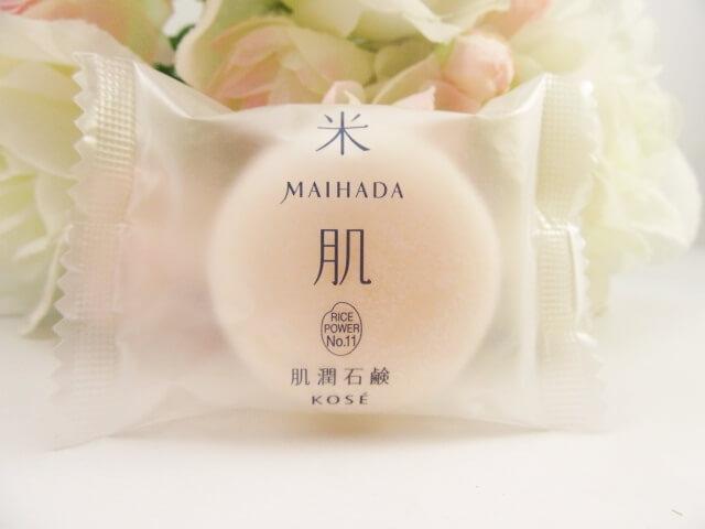 米肌の洗顔石鹸「肌潤石鹸」