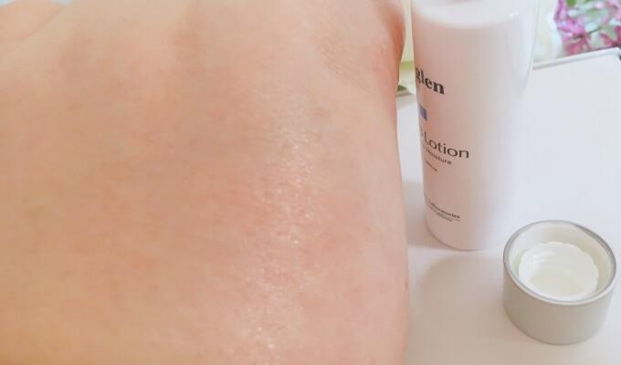 ビーグレン化粧水の浸透力