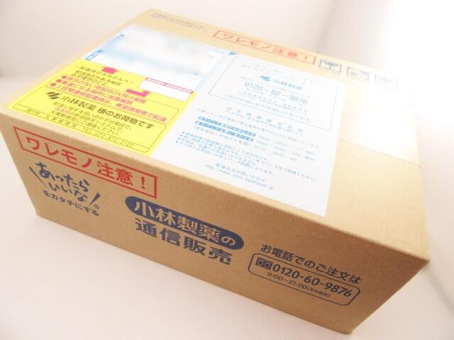 小林製薬の箱