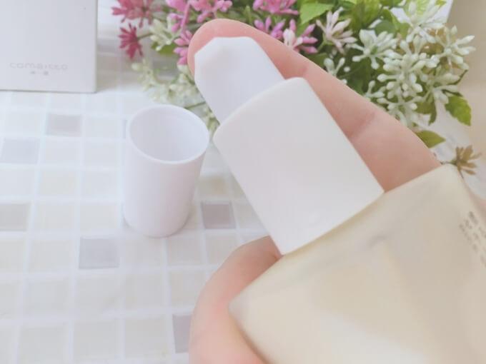 米一途の美容液のポンプ