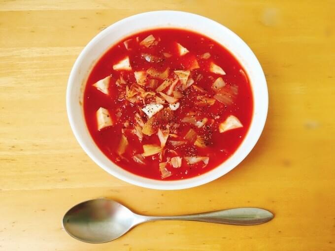 脂肪燃焼スープをアレンジしたデトックス&美肌スープ