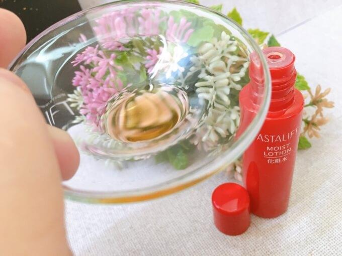 アスタリフトのレチノール入り化粧水