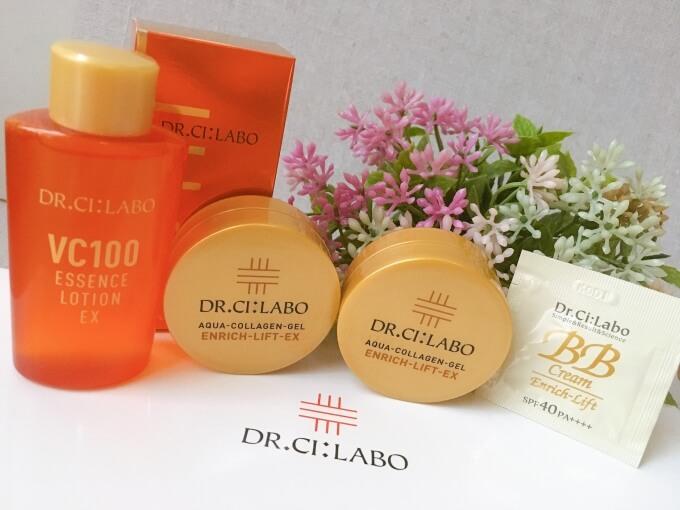ドクターシーラボの化粧水とオールワインゲルの効果