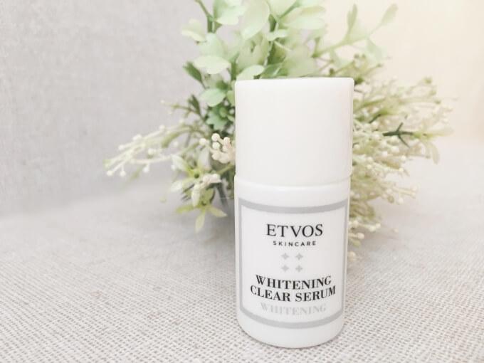 エトヴォスの美白美容液「薬用ホワイトニングクリアセラム」