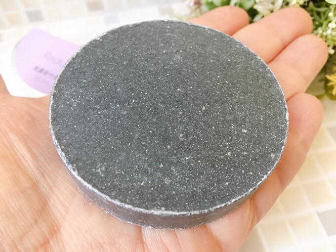 ジュゲン高濃度竹塩石鹸プレミアムの大きさ