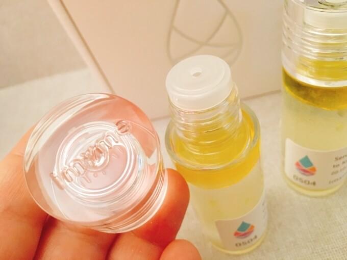 アイマイミー(imyme)セラム美容液のボトルキャップ