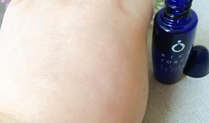 ライスフォース薬用保湿化粧水の使用感
