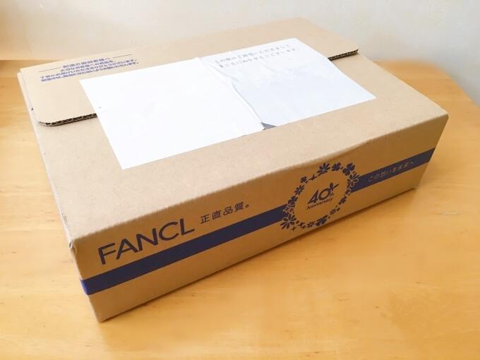 ファンケルエンリッチが届いたときの箱