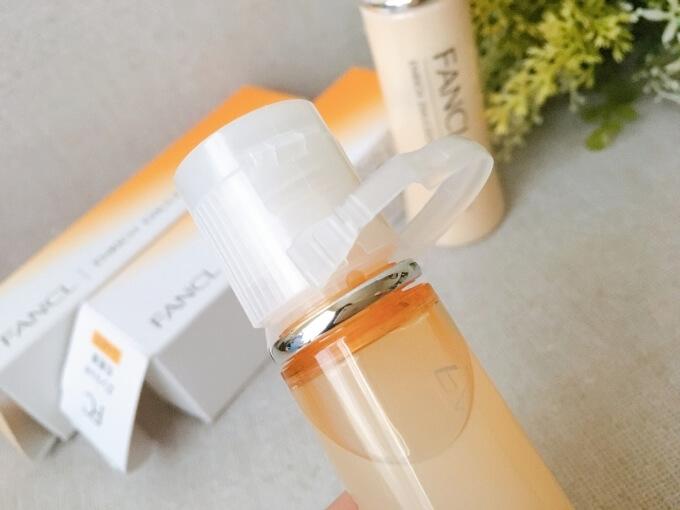 ファンケルエンリッチ化粧液(水)Ⅱしっとりタイプの容器